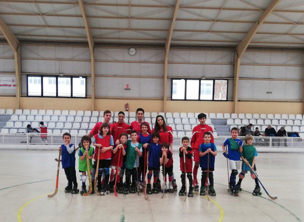 Unete ao mini hockey. Traviesas Hockey Club Vigo. Hockey Patines en Vigo