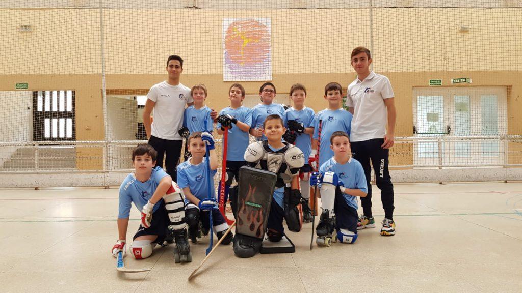 Benjamines hockey patines vigo