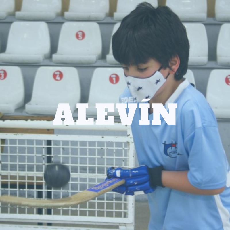 ALEVIN. HOCKEY PATINES VIGO.